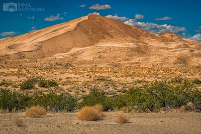 Mojave dunes