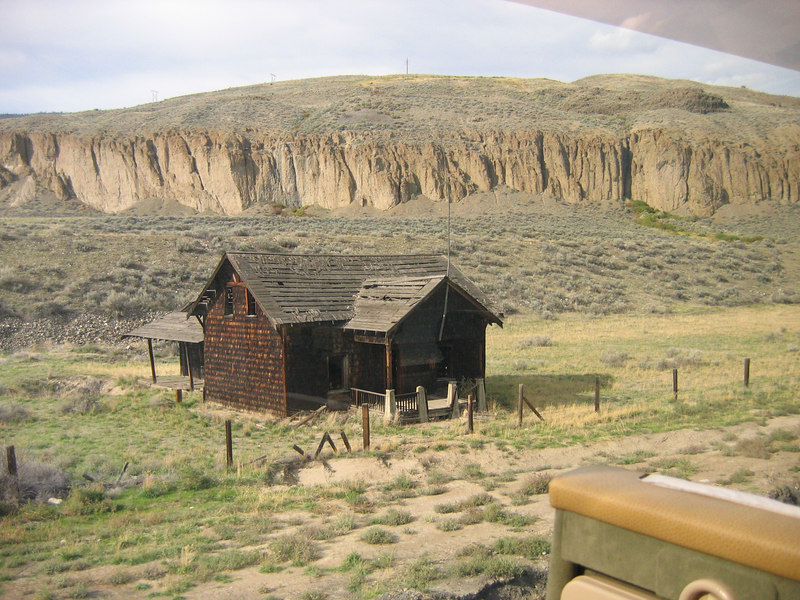 A fixer upper in the upper canyon.
