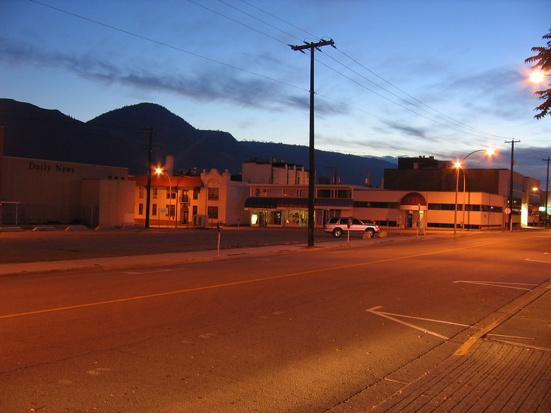 Morning at Kamloops for Day 2 of the tour.