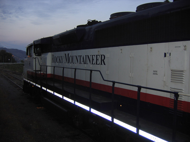 the engine for the other train.