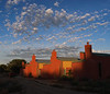 Dawn sky over Santa Fe, N.M.