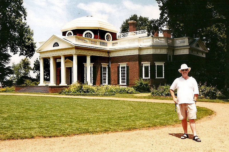 Monticello, Virginia-home of my favorite president, Mr. Thomas Jefferson. What a brilliant man, he was.