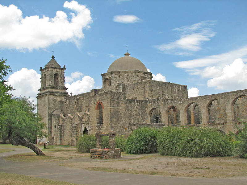 Mission Concepcion in San Antonio, TX.  This place was VERY picturesque!