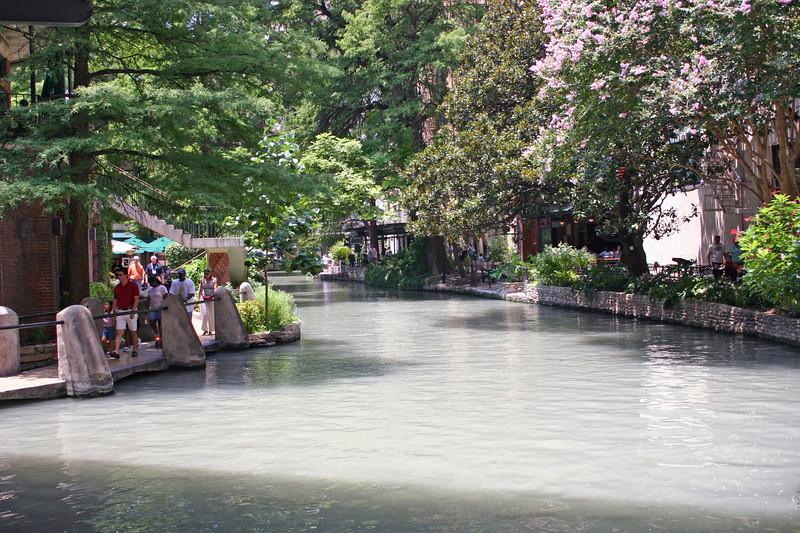 Riverwalk in San Antonio.