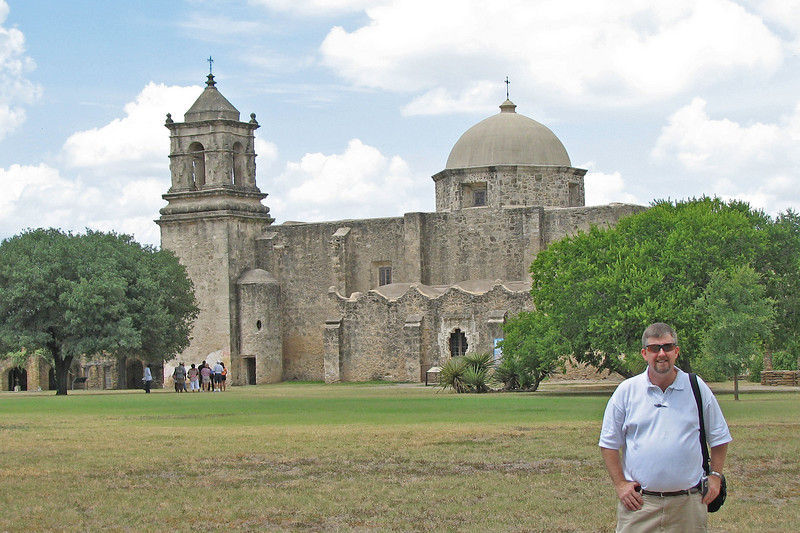 One of the missions in San Antonio on the Mission Trail.  Very beautiful structures all & well worth a visit!