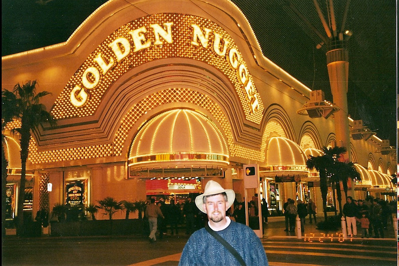 On the old strip in Las Vegas.