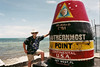 The southernmost point in the continental US of A - Key West, Florida. 2001.