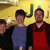 Lynette, Amy, and Charles - the Jamprentice - or latest new employee.