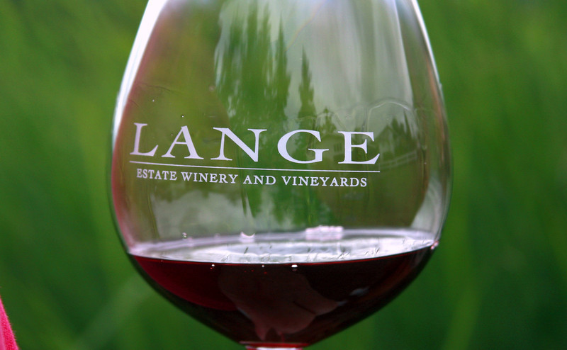 Our first stop of the day was at Lange Estate Winery. Don and Jesse Lange make some of the valleys most-respected wines.