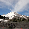 This is the stunning MT. Hood from 6,000 feet at the Lodge.