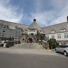 """The historic Timberline Lodge, 6,000 feet up Mt. Hood is stunning. The structure was started in 1934. It sits about halfway up the mountain. It's also known for the Jack Nicholson film, """"The Shining."""""""