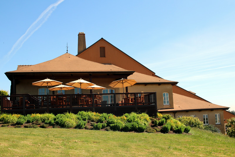 We started our Wednesday visits at iconic Domaine Drouhin, Oregon's Willamette Valley.