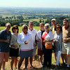 Our fun group in the vineyards of Domaine Drouhin