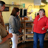 Our first stop of our last day in the Willamette Valley was at Carlton's Republic of Jam. Owner - and chief jam idea lady - Lynnette Shaw was there to greet our group and talk about their unique business. A booming business since it's inception, but obviously more booming since my last visit.