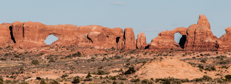 • Location - Arches National Park<br /> • North and South Windows