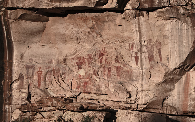• Location - Sego Canyon<br /> • Pictographs