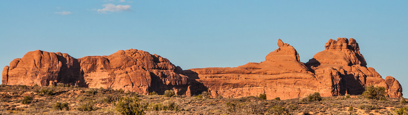 • Location - Arches National Park<br /> • Just another scenic view