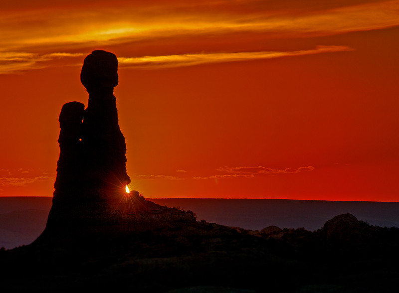 • Location - Arches National Park<br /> • Sunset at Arches National Park