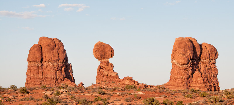 • Location - Arches National Park<br /> • Balanced Rock