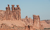 • Location - Arches National Park<br /> • The Three Gossips