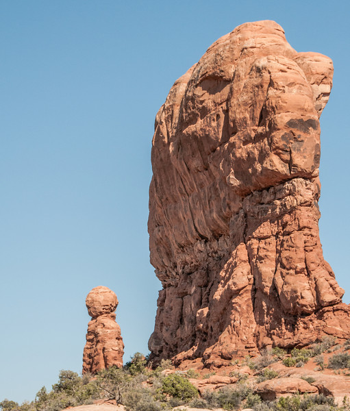 • Location - Arches National Park<br /> • Balanced Rock in the background