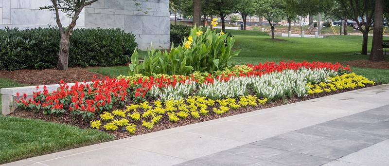 Federal Reserve Bank of Atlanta flower garden