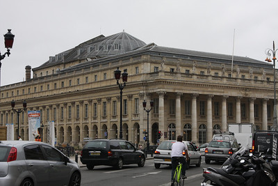 The city's old theatre in the Place de Comedie. It's now an opera house.