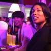 Theresa of NY agency Creative Feed and Chicago-based wine writer Janelle at the Sweet Bordeaux Cocktail Party.