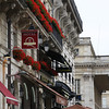 Beautiful 18th century architecture with the ever-present flowers on balconies!