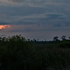Sunset view from Turner River Road in the Florida Everglades
