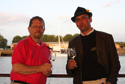 The sweet Bordeaux is made from the same three wine grapes as Bordeaux whites - Sauvingon Blanc, Semillion, and Muscadel. Most people have heard of or tried Sauternes but it's made in other regions as well. Here I am chatting with Guillaume Perromat of Chateau d'Armajan .