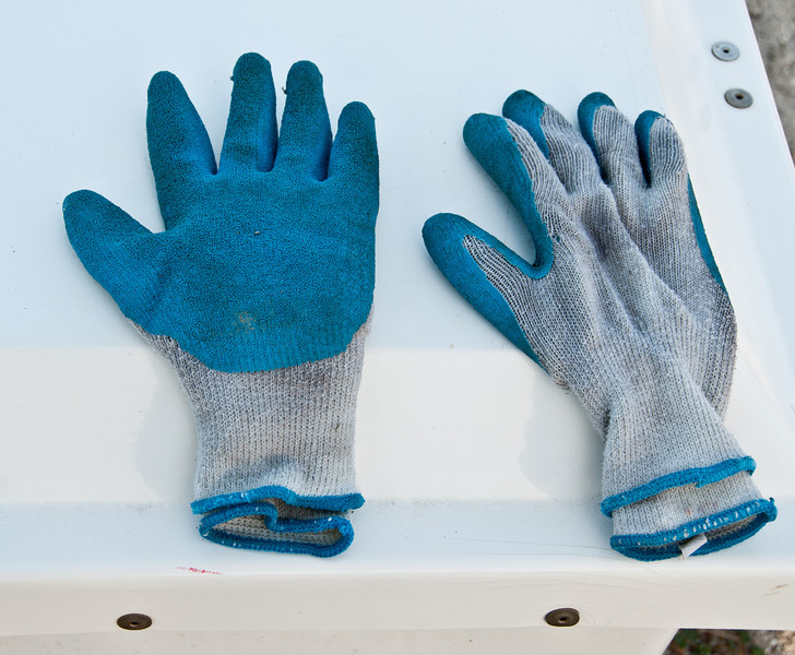 • Harbour Town<br /> • Pair gloves somebody left behind