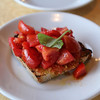The bruschetta toast wasn't anything special ... but the tomatoes were awesome.