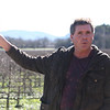 Fetzer discusses another nearby vineyard.