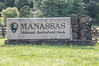 Manassas National Battlefield Park Sign
