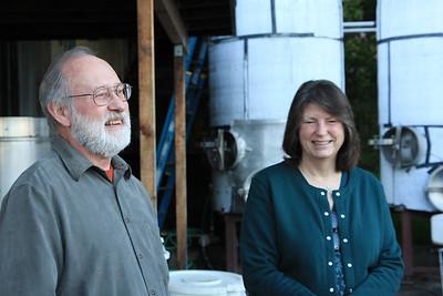 Bob and Claudia Klindt of Claudia Springs Vineyard