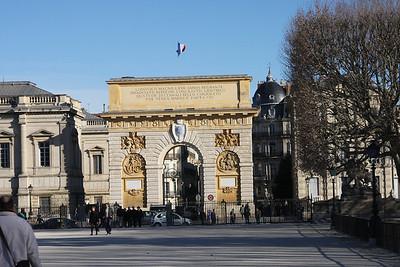 The city's own Arc de Triomphe.