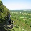Overlook point along the Mt Nemo Conservation Area escarpment.