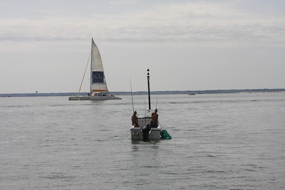 Saturday morning we made the drive out to Arcachon and spent three hours on the large bay on the southeastern edge of France. We saw fishermen, saleboats, and boats of all size while cruising one of Europes best known oyster areas.