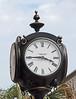 Local street clock