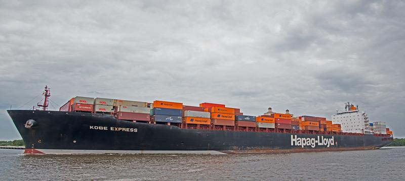 Kobe Express Cargo Ship