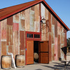 A very old, metal-sided barn serves as the Steinbeck tasting room. They make a limited amount of wine from their vineyard under the Steinbeck label.