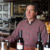 Tim is owner, winemaker, and runs the tasting room by himself.