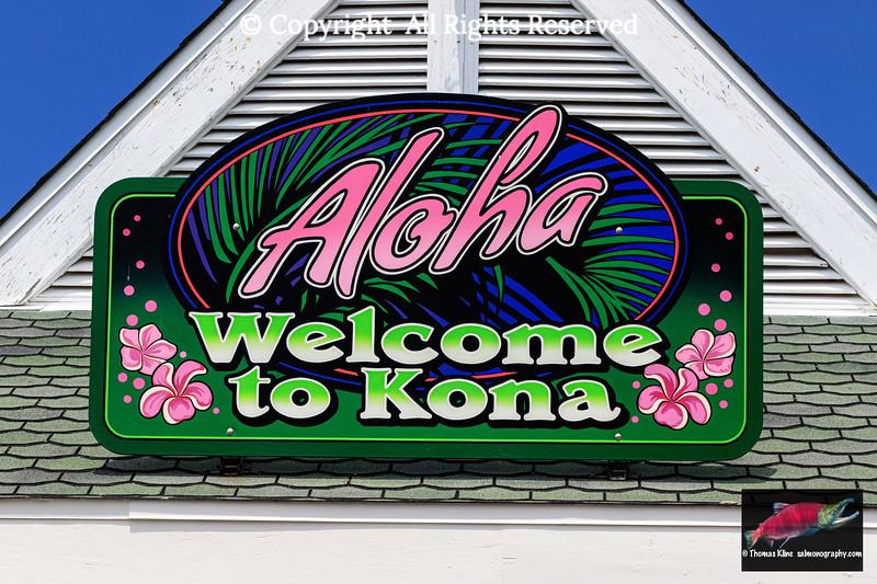 Aloha greeting