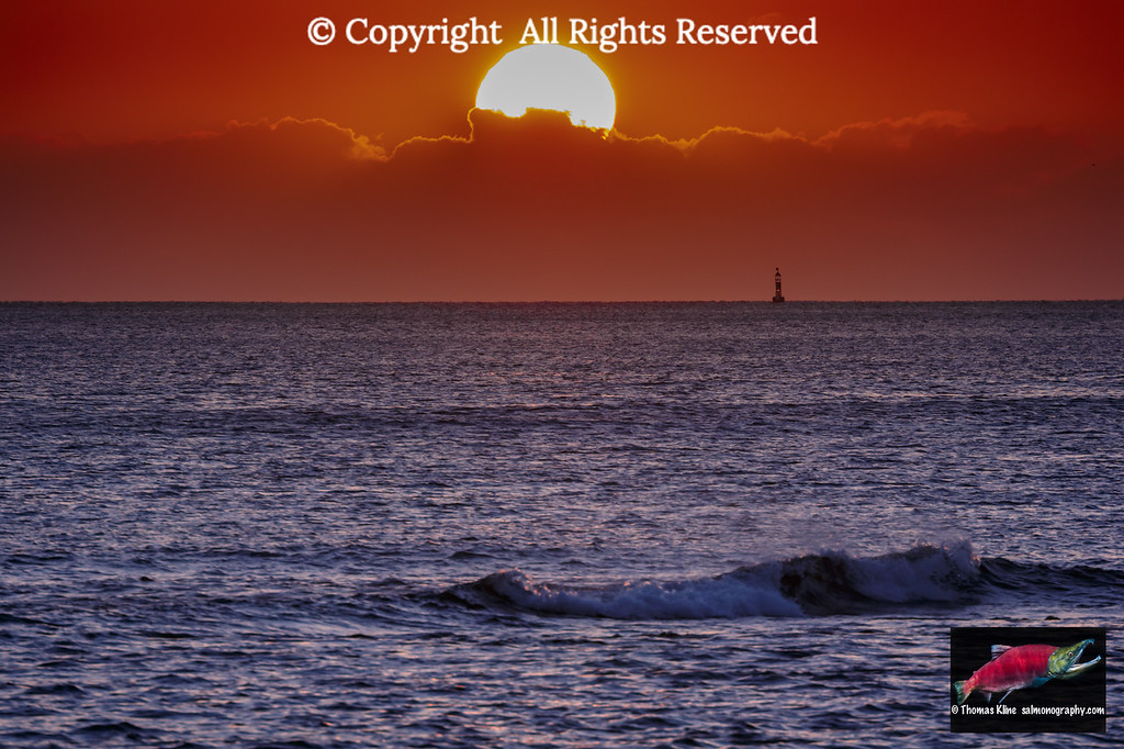 Sunset view from Magic Island, Ala Moana Park, Waikiki,  Oahu Island