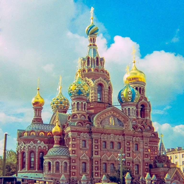 The Church of Our Savior on Spilled Blood, St. Petersburg, Russia