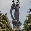 Archangel Gabriel in Lychakiv Cemetery, Lviv Ukraine
