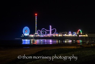 Galveston Amusement Park, right on the pier.