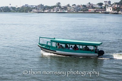 The ferry to get to the other side of town.