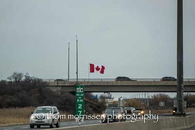 Leaving the Great White North on December 28th.